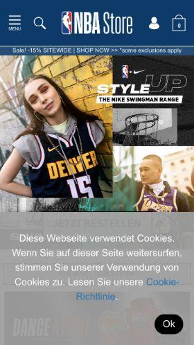 NBA Europe Store voucher code » 10% OFF in February 2019 ... ff4e36511